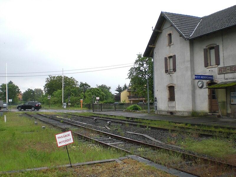 Petit-Réderching Station