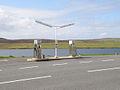 Petrol pumps, Bixter - geograph.org.uk - 1297138.jpg