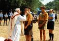 Pfadfinderstamm Ägypten, Internationales Sommerlager bei Arlia nahe Fivizzano, Toskana, Italien, 1993 - Gottesdienst.png