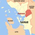 Ph locator samar paranas.png