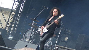 Y&T - Phil Kennemore at Hellfest in France, 2010.