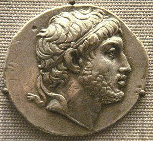 Marcus Baebius Tamphilus - Tetradrachm of Philip V of Macedon (British Museum)