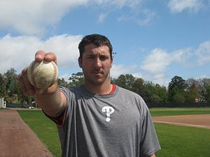 Phillippe Aumont - Aumont with the Phillies