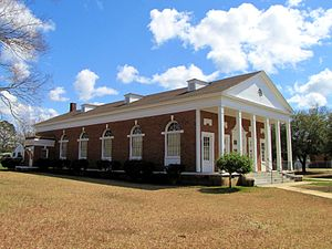 Lincoln Normal School - Phillips Memorial Auditorium, one of only a few campus buildings still standing
