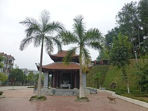 Bảo Thắng District - A monument in Phố Lu