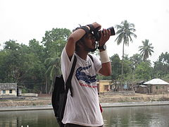 Phographer, Wikipedia Photowalk, Rajshahi 1.JPG