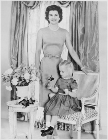 Photograph of Betty Ford with Daughter, Susan Ford - NARA - 186845.tif