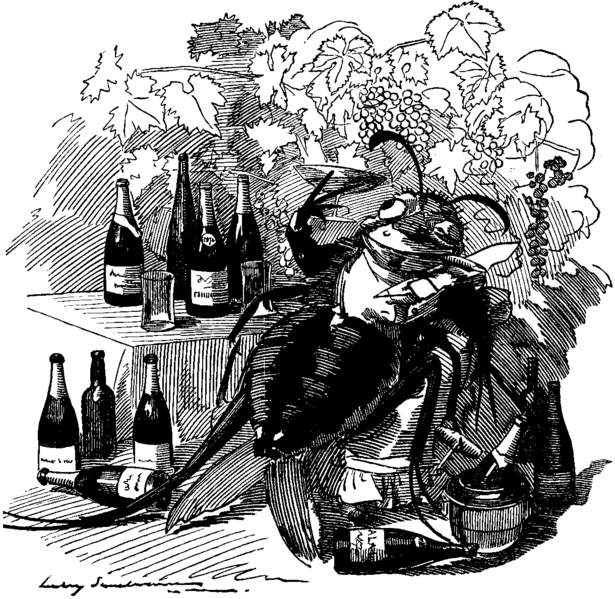 Cartoon from Punch, September 6, 1890, page 110 Artwork by Edward Linley Sambourne (January 4, 1844–August 3, 1910). Uploaded to Wikimedia Commons under PD Old
