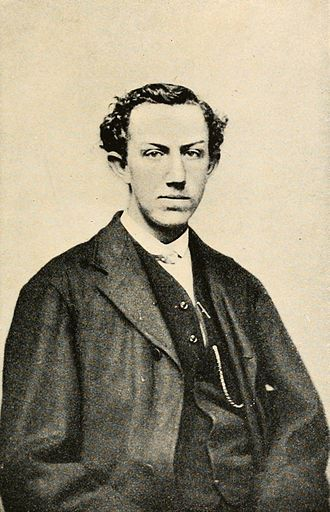 David Starr Jordan - David Starr Jordan as a young man (1868) from Days of a Man