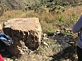 Piedra de sacrificios en el camino de Incallajta.jpg