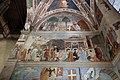 Piero della francesca, cappella bacci, 1452-69 circa, esaltazione della croce, ritrovamento e verifgica della croce.jpg