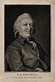 Pierre-Joseph Desault. Lithograph by Bordes after C. N. Coch Wellcome V0001541.jpg