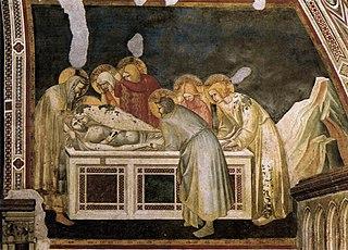 Le Christ mis au tombeau