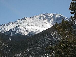 Facundo Melgares - Pikes Peak, Colorado