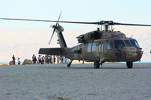 "123 Squadron (Israel) - ""Black Hawk"" of the 123rd Squadron"