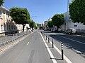 Piste cyclable Avenue Gabriel Péri Montreuil Seine St Denis 3.jpg