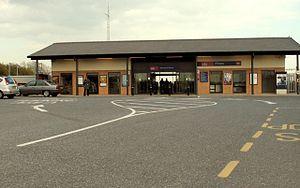 Pitsea railway station - Image: Pitsea railway station in 2008
