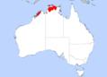 Pitta iris distribution.png