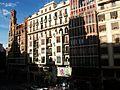 Plaça de l'Ajuntament de València edificis.JPG
