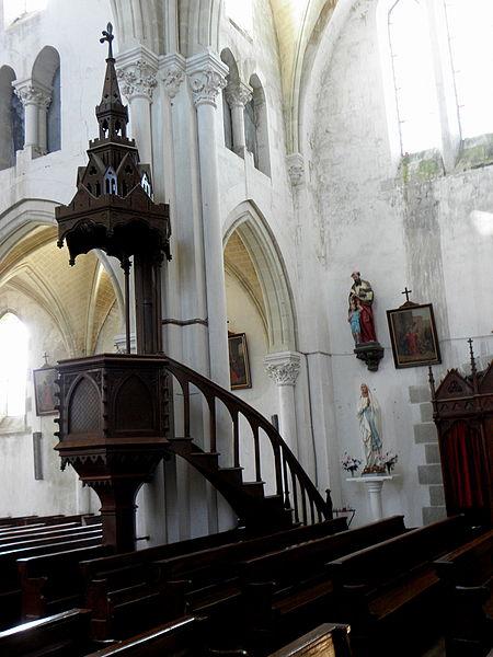 Église Saint-Gervais et Saint-Protais de Placé (53).