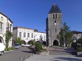 Beauville, Lot-et-Garonne - Place Archambault De Vençay