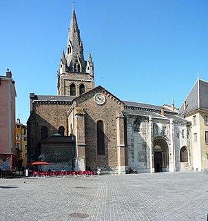 collegiate church located in Isère, in France