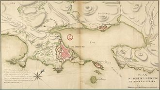 Fortress of Louisbourg - Plan of the Fortress in 1751