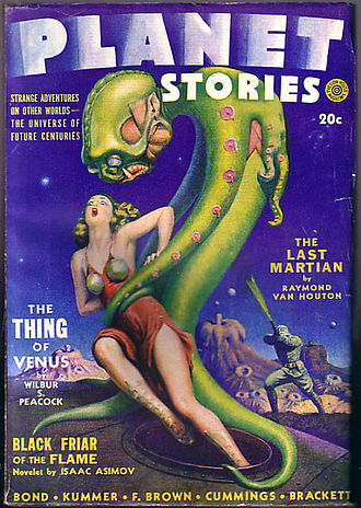 Planet Stories - Image: Planet stories Spring 1942 cover