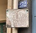 Plaque à Jean Bianchero au 232 rue Garibaldi (Lyon).jpg