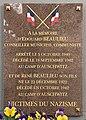 Plaque Mémoire Édouard & René Beaulieu Rue Édouard Beaulieu - Rosny-sous-Bois (FR93) - 2021-04-15 - 1.jpg