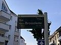 Plaque Rue Pierre Brossolette - Noisy-le-Grand (FR93) - 2021-04-24 - 2.jpg