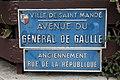Plaque avenue Général Gaulle St Mandé 1.jpg