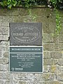 Plaques at the Richard jefferies Museum - geograph.org.uk - 805596.jpg