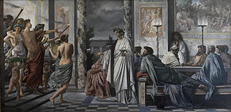 a comparison of speeches about love made by agathon and socrates in the symposium by plato In plato's symposium, a dinner party was held with the discussion of love as the main topic everyone was required to make a speech, an ode to love, the spirit the philosopher, socrates gave his speech last, claiming that his speech was merely a repetition of what a wise woman named diotima once told him.