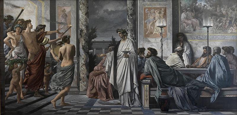 File:Plato's Symposium - Anselm Feuerbach - Google Cultural Institute.jpg