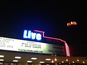 The Plaza Live - The Plaza Live Marquee