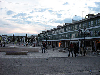 Almagro, Ciudad Real - Main square of Almagro