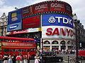 Plaza de Piccadilly Circus en Londres.JPG