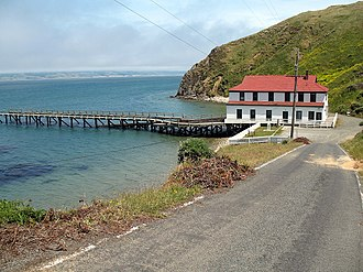 Point Reyes Lifeboat Station - Image: Point Reyes Lifeboat Rescue Station Inverness CA 5 31 2010 2 22 51 PM