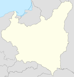 Mapa lokalizacyjna Polski