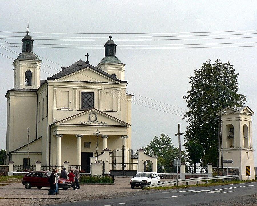 Skrzeszew, Sokołów County
