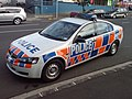 Police Car On An Auckland Street.jpg