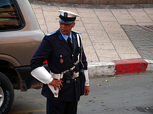 Sûreté Nationale (Morocco) - Moroccan police officer.