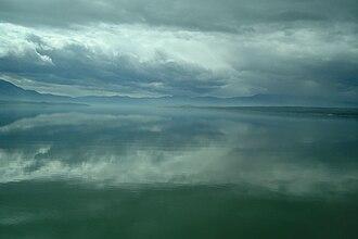 Servia, Greece - Image: Polyfytos lake