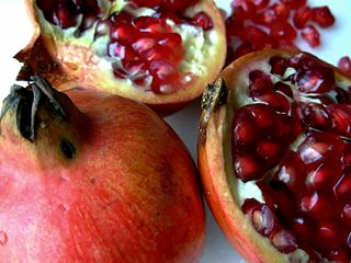 Image of a pomegranate