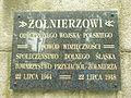 Pomnik Zwycięstwa Żołnierza Polskiego- tablica.JPG