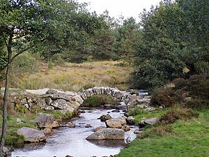 Gentioux-Pigerolles - The Roman bridge - Pont de Senoueix