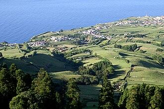 Ponta Garça - Partial view of the parish of Ponta Garça, considered the longest parish on the island of São Miguel