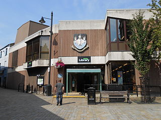 Pontefract Library public library in Wakefield