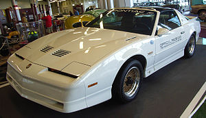 1989 Indianapolis 500 - Image: Pontiac Trans Am 1989 Indianapolis 500 pace car